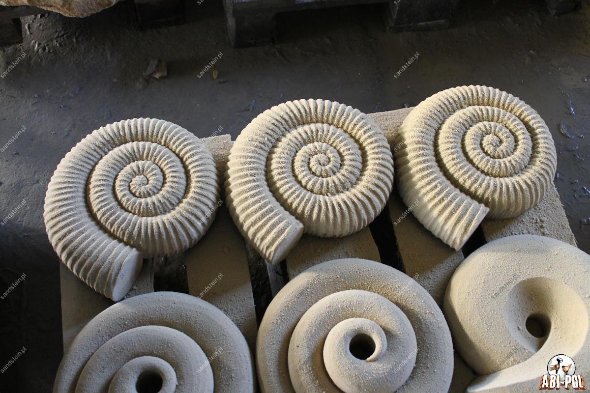 Skulpturen for Figuren aus sandstein