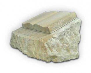 Buch aus sandstein for Figuren aus sandstein